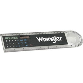 Ruler Calculator With Magnifier (8 Inch)