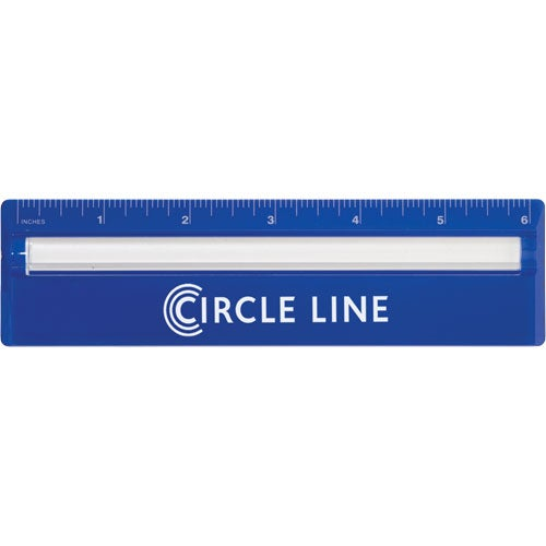 Blue Ruler Magnifier Bar
