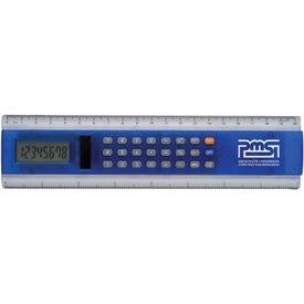 """Imprinted 8"""" Ruler Calculator"""