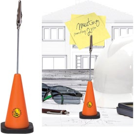 Safety Cone Note Holder