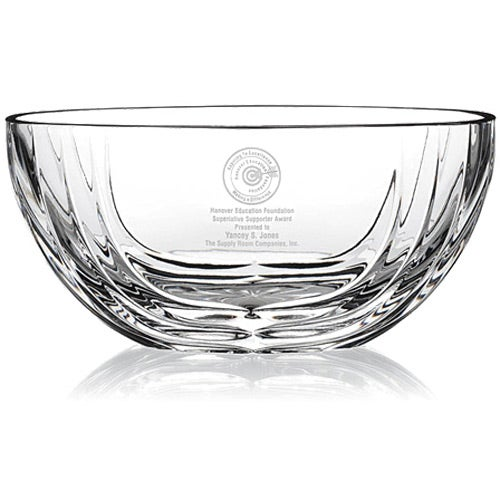 Sculpted Oval Bowl Award