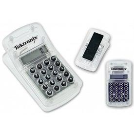 Custom See-Thru Calculator Clip