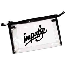 See-Thru Carry All Zippered Pouch