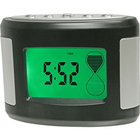 Promotional Sensor Touch Light Up Desk Clock
