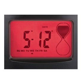 Sensor Touch Light Up Desk Clock Giveaways