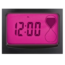 Sensor Touch Light Up Desk Clock for Your Company