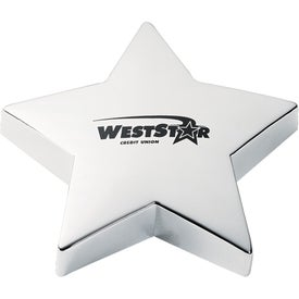 Shining Star Gold Paperweight