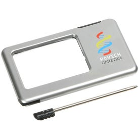 Silver Thin Light Up Magnifier