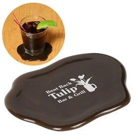 Branded Sip N' Spill Coaster