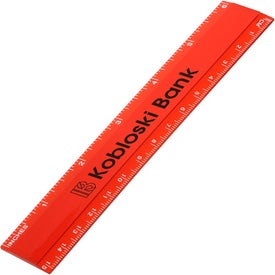 Six-Inch Mini Ruler Branded with Your Logo
