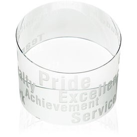 Slanted Paperweight for Marketing