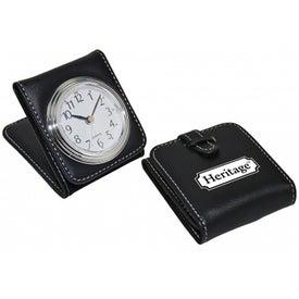 Sleek Travel Clock for Your Organization