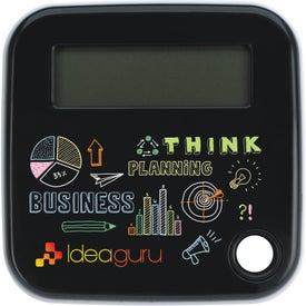 Slider Calculator Branded with Your Logo