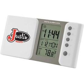 Sliding Multiple Functions Digital LCD Alarm Clock