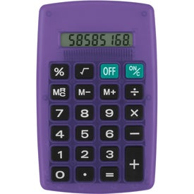 Printed Slim Pocket Calculator