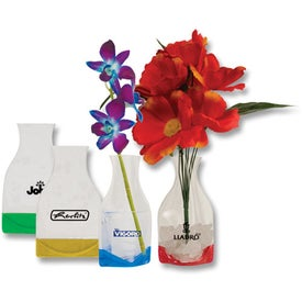Logo Small Fold-Up Vase