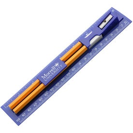 Small Writing Ruler Kit Printed with Your Logo