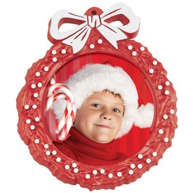 Monogrammed Snap In Photo Wreaths