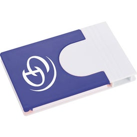 Monogrammed Snap Media Holder with Screen Cleaner