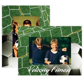 Soccer Paper Easel Frame