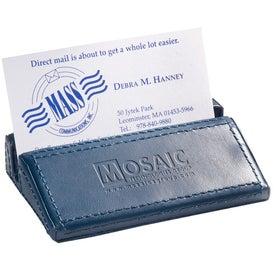 Printed Soho Desk Business Card Holder