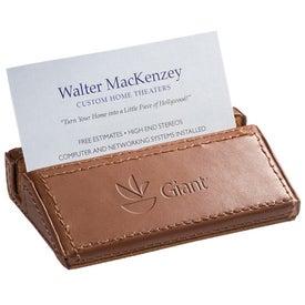 Soho Desk Business Card Holder for Marketing
