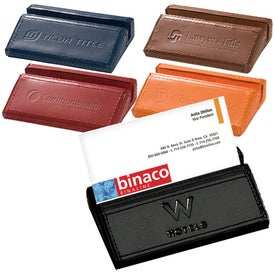 Soho Desk Business Card Holder Printed with Your Logo