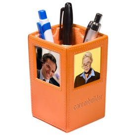 Custom Soho Photo Pencil Cup