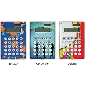 Imprinted Solar Powered Calculator