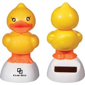 Solar Powered Dancing Duck