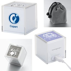 Solo Original USB Speaker with Rhythmic LED Light Printed with Your Logo
