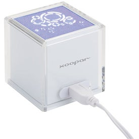 Branded Solo Original USB Speaker with Rhythmic LED Light