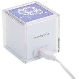Branded Solo Original USB Speaker with Rhythmic LED Light