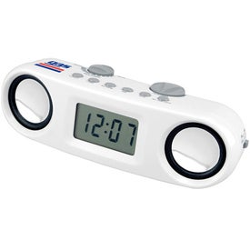 Promotional Speaker And Digital Clock Combo