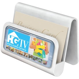 Customized Spectradome Business Card Holder