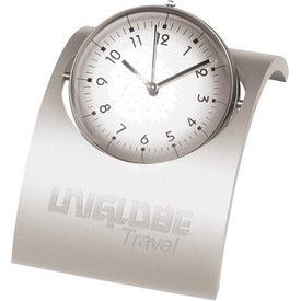 Spinning Desk Clock for Promotion