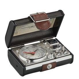 Spirit of St. Louis Travel Suitcase Alarm Clock for Promotion