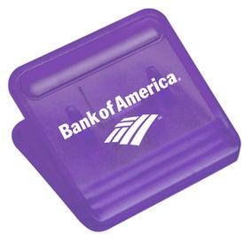 Square Mega Magnet Clip Giveaways