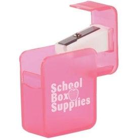 Logo Square Pencil Sharpener