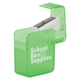 Square Pencil Sharpener for Advertising