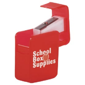 Monogrammed Square Pencil Sharpener