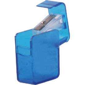 Square Pencil Sharpener Branded with Your Logo