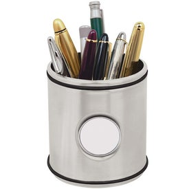 Printed Stainless Pen Caddy