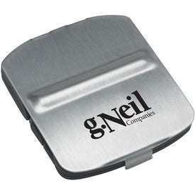 Printed Stainless Steel Cover Alarm Clock