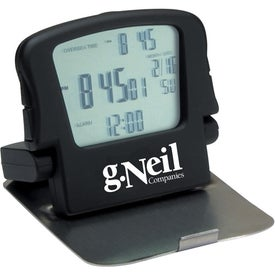 Promotional Stainless Steel Cover Alarm Clock