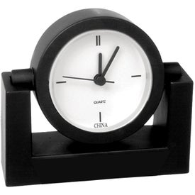Standard Desk Clock Branded with Your Logo