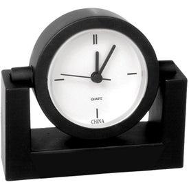 Standard Desk Clock Branded with Your Logo