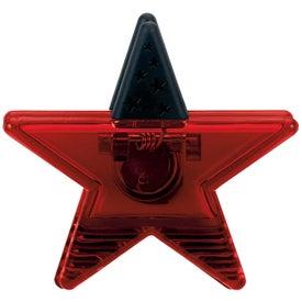 Advertising Star Clip Magnet