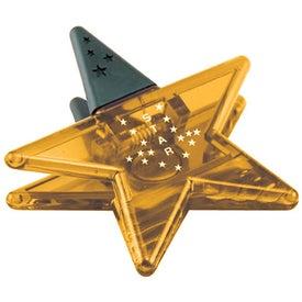 Imprinted Star Magnet Clip