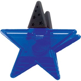 Star Magnetic Fridge Office Clip Giveaways